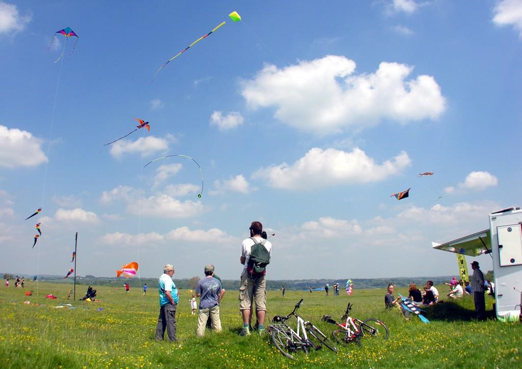 Minchinhampton Kite Festival | Courtesy of National Trust