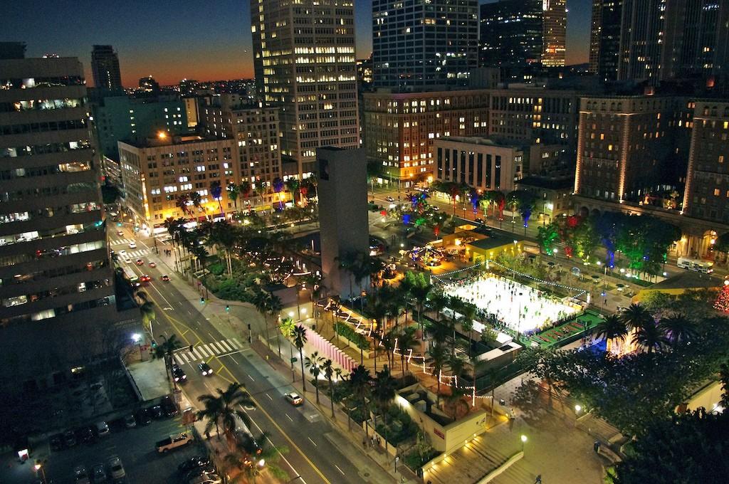 Downtown Los Angeles ©David Merrett/Flickr