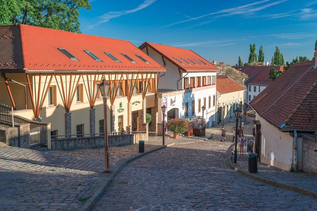 Eger city Hungary