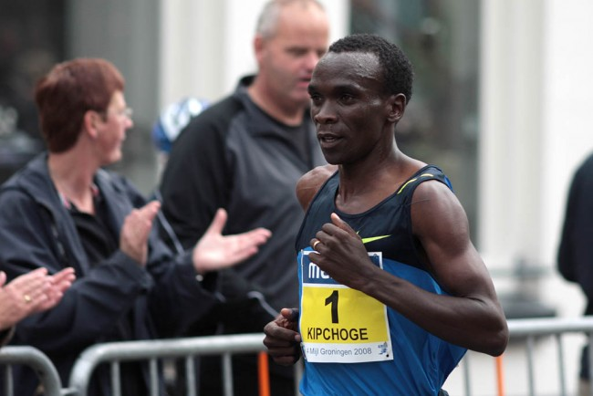 Eliud Kipchoge, winner of the 2016 London Marathon | © Michiel Jelijs/Flickr