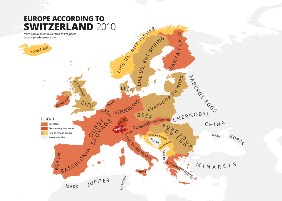 These hilariously rude maps show europe according to europeans yanko tsvetkov gumiabroncs Gallery