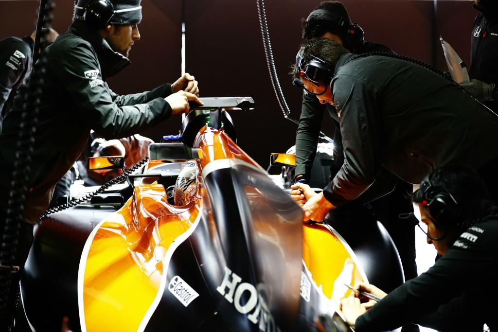 F1 Testing Circuit in Barcelona   Courtesy Stratasys
