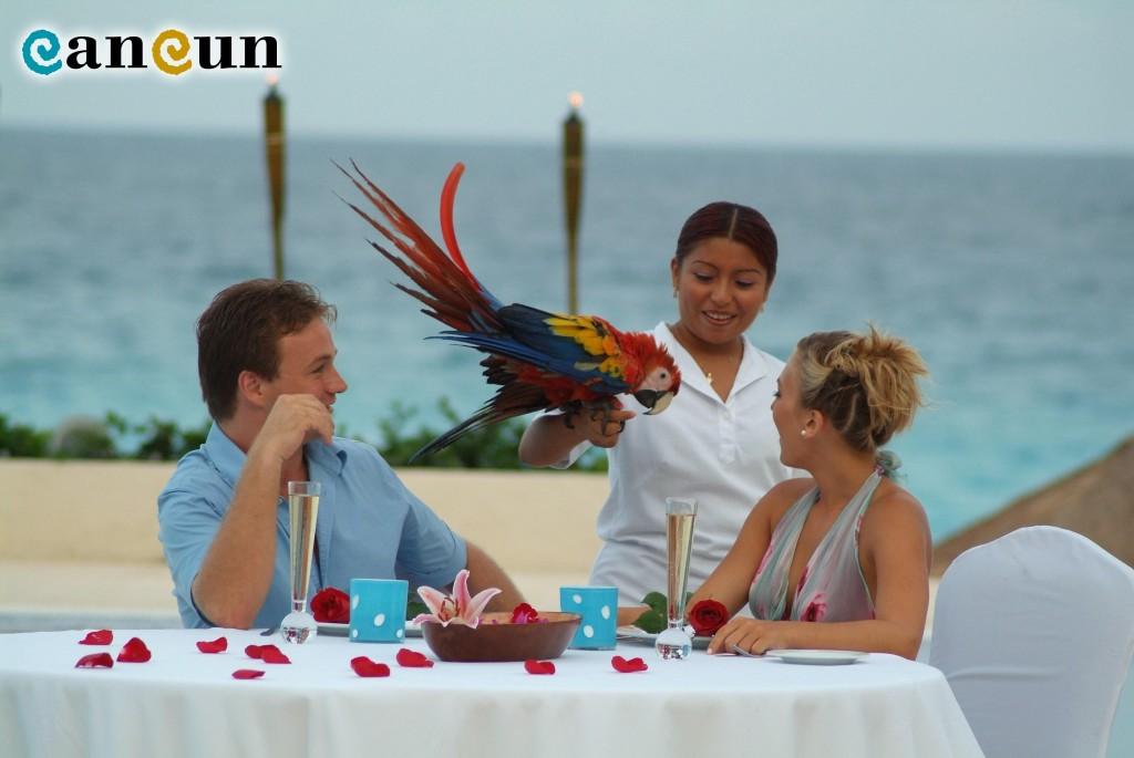 Honeymoon / Courtesy Cancun.Travel
