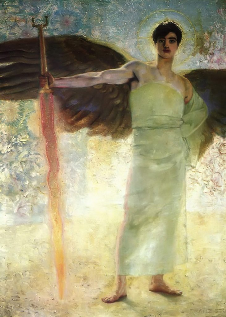 The Guardian of Paradise by Franz Stuck / Wikimedia Commons
