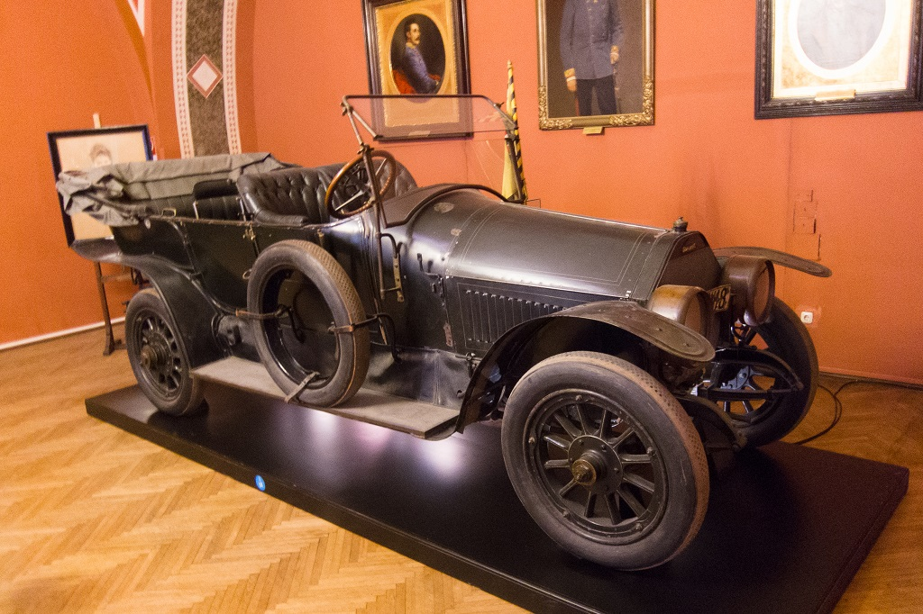 Auto in which Grand Duke Ferdinand was assassinated in 1914