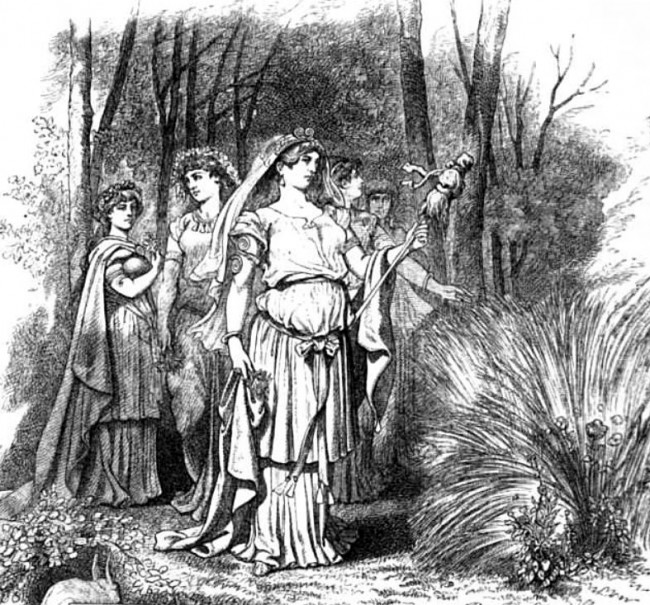 The Goddess Ostara, Wiki Commons