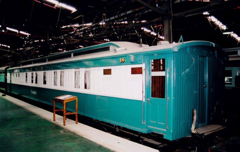 Steam train cart