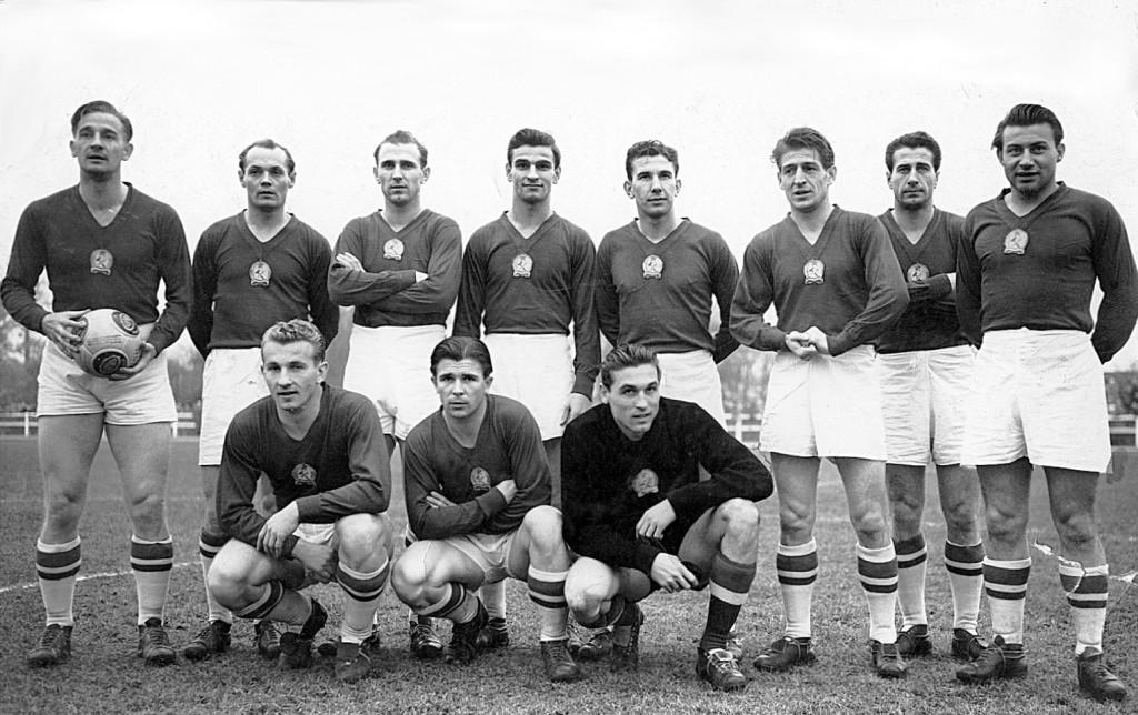 Hungarian football team 1953