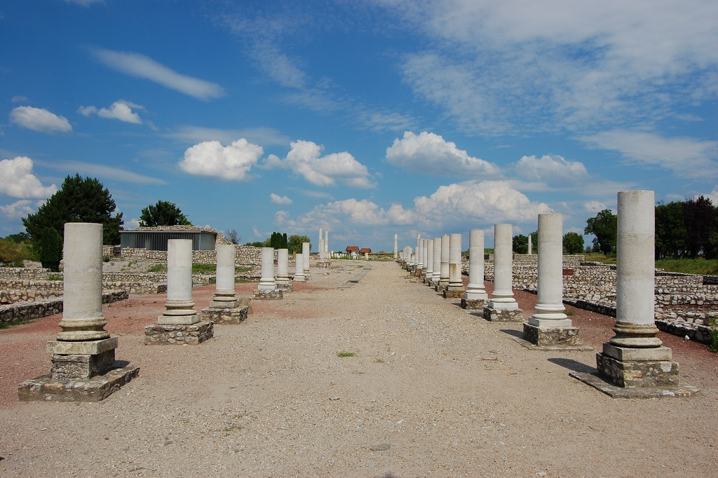 Hungarian archaeological park of Gorsium