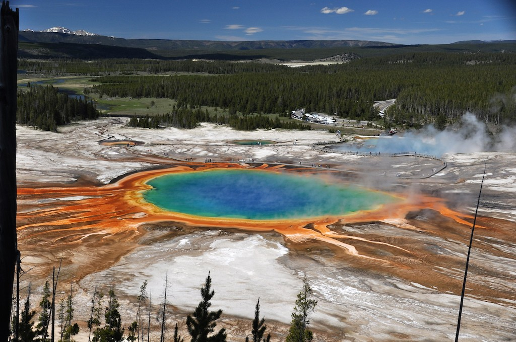 Grand Prismatic Spring|©James St. John/Flickr