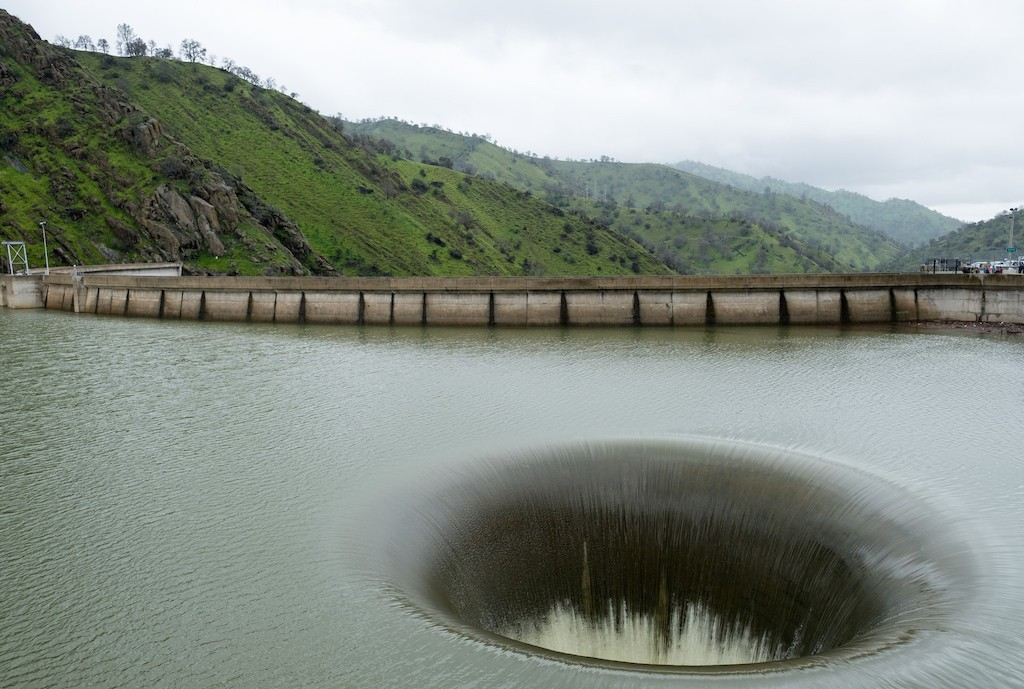 Lake Berryessa Glory Hole ©Jeremy Brooks/Flickr