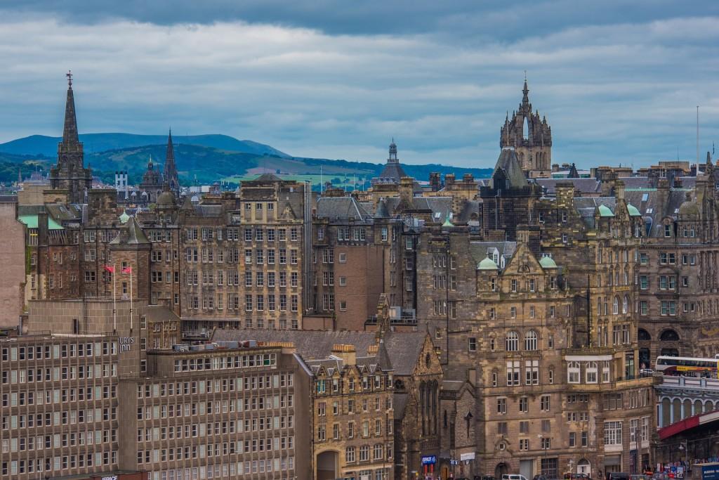 Edinburgh Architecture | © Pixabay