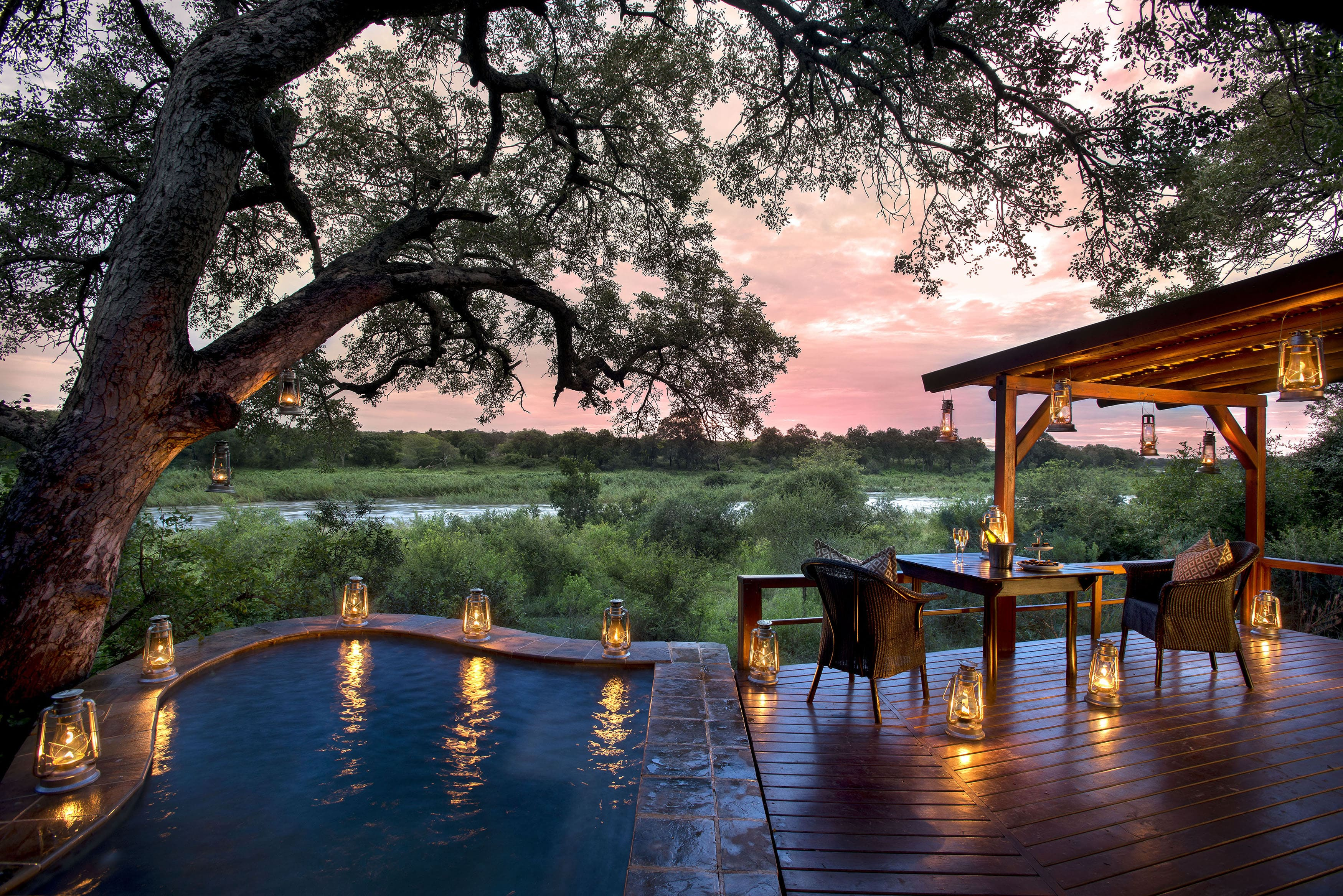 Affordable luxury weekend getaways in and near gauteng for Cheap weekend vacations in the south