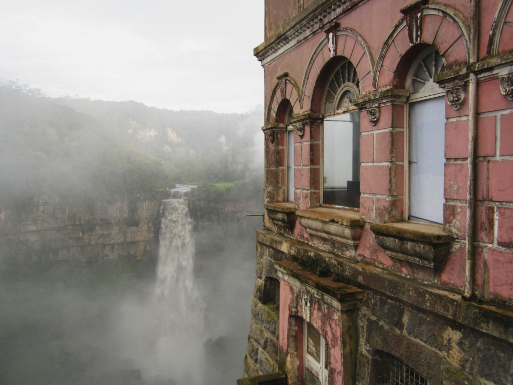 Hotel del Salto overlooks the XX Falls and was once a popular guest house   © XX