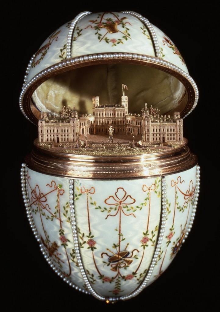 Gatchina Palace Egg | © Walters Art Museum / WikiCommons