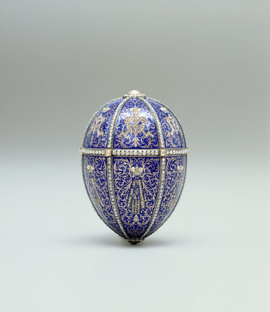 Twelve Monograms Egg | Courtesy of the HIllwood Museum