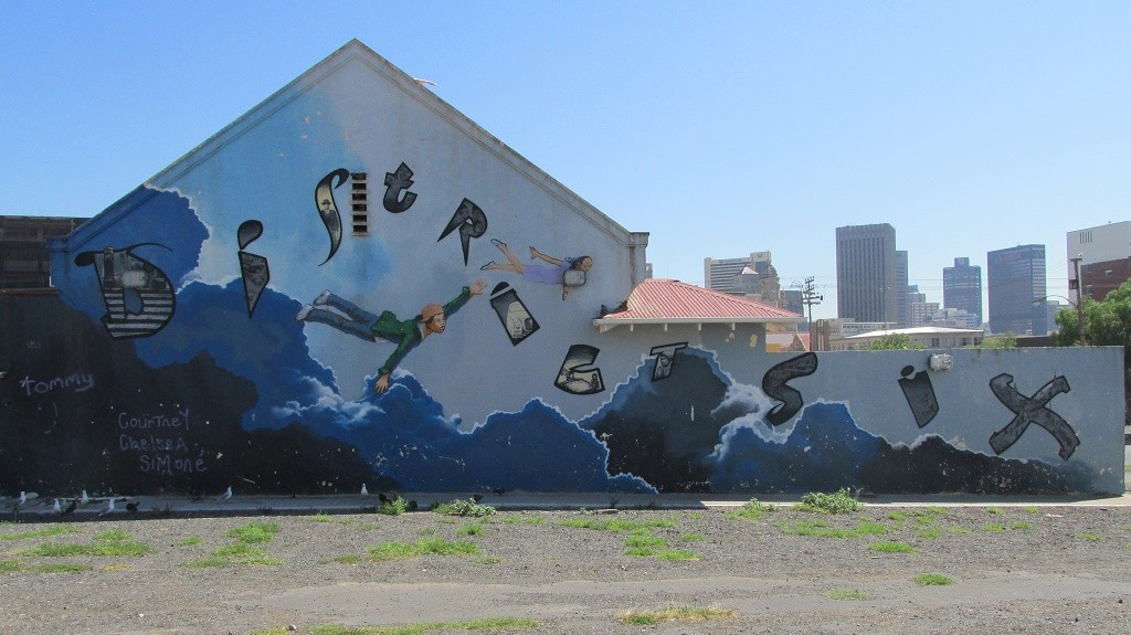 District Six mural © Lee-Shay Collison