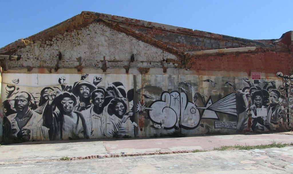 Mural by Freddy Smith © Lee-Shay Collison