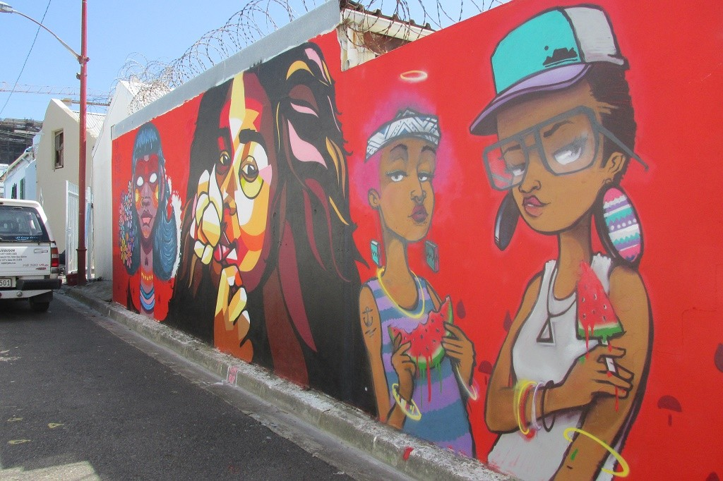 Mural by Nardstar in Obs © Lee-Shay Collison