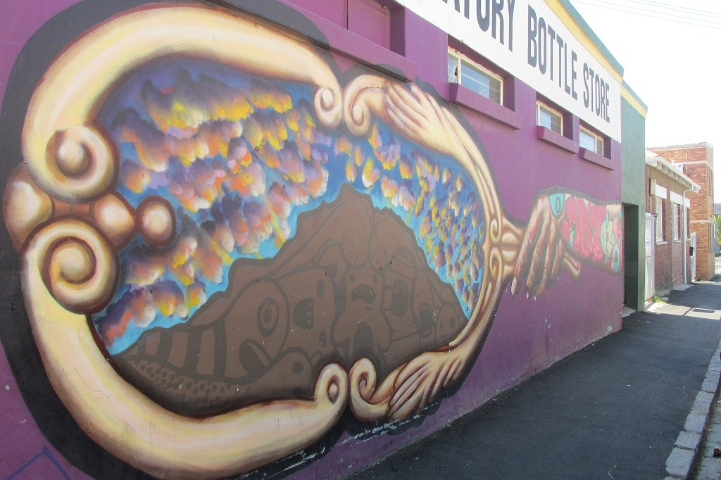 Mural in Obs © Lee-Shay Collison