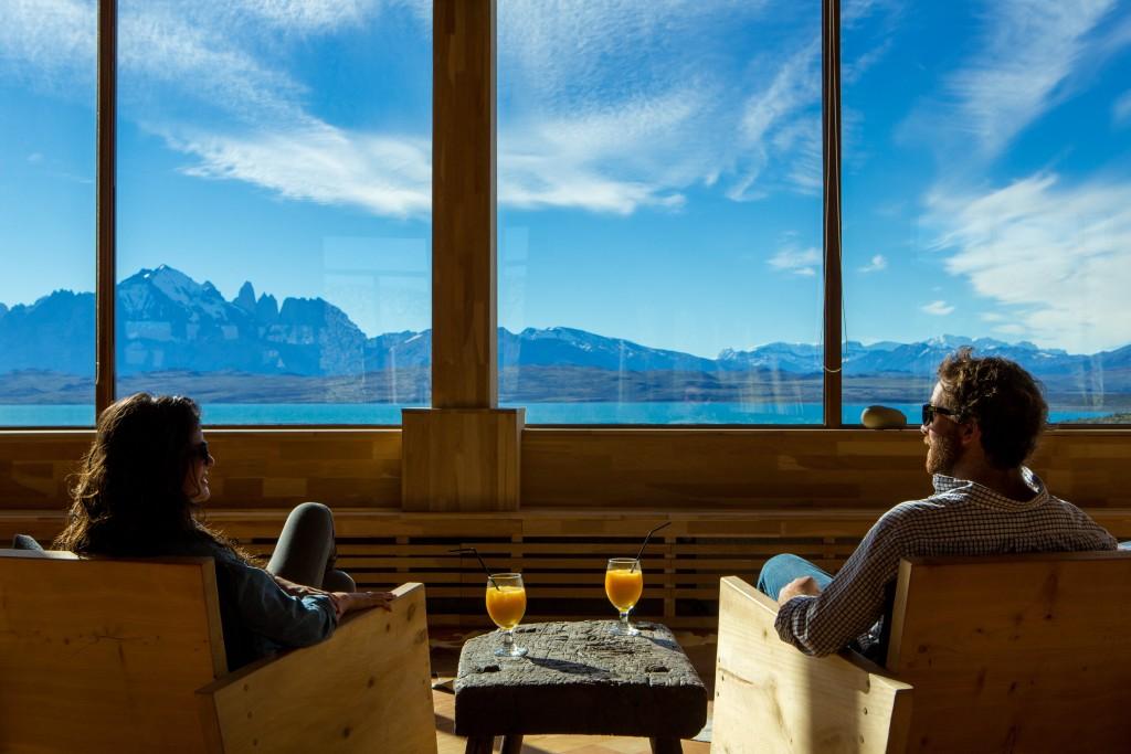 Views courtesy of Tierra Patagonia