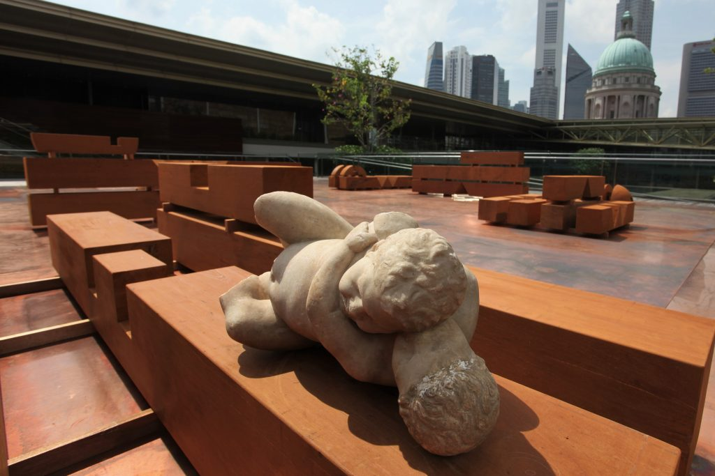 Sculpture Garden by Danh Vo | Courtesy of the National Gallery Singapore