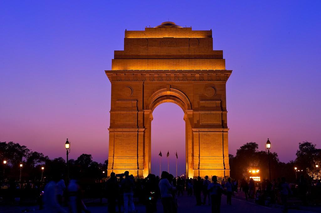 India gate, New Delhi  ©Larry Johnson / Flickr