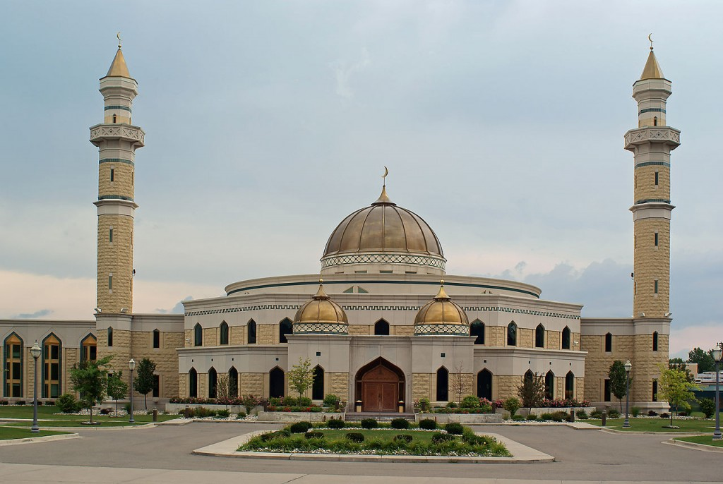 Islamic Center of America – Dearborn, Michigan | © Dane Hillard/Flickr