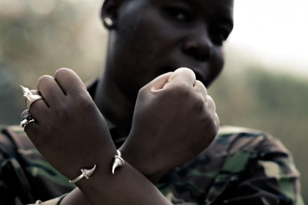 Rings and a bracelet from Anna Rosholt's latest range | ©David Beretta