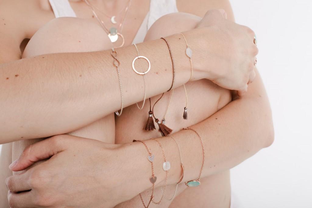 bracelets from Spirt jewellery
