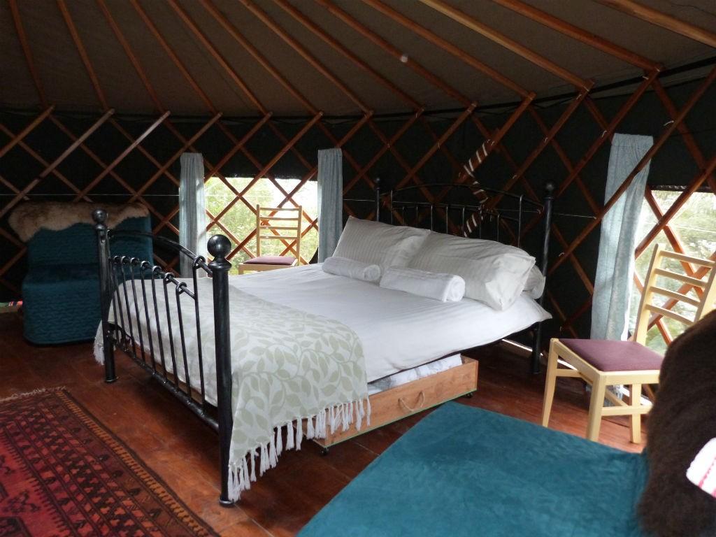 Juniper Yurt Interior | Courtesy Of Black Isle Yurts