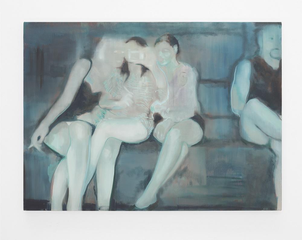 Kate Gottgens 'Like Silver Fish' 2016, Oil on Canvas © Kate Gottgens / Courtesy of SMAC Gallery