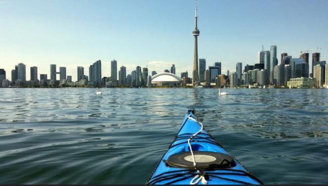 Kayaking in Toronto | © Mathew Ingram/ Flickr