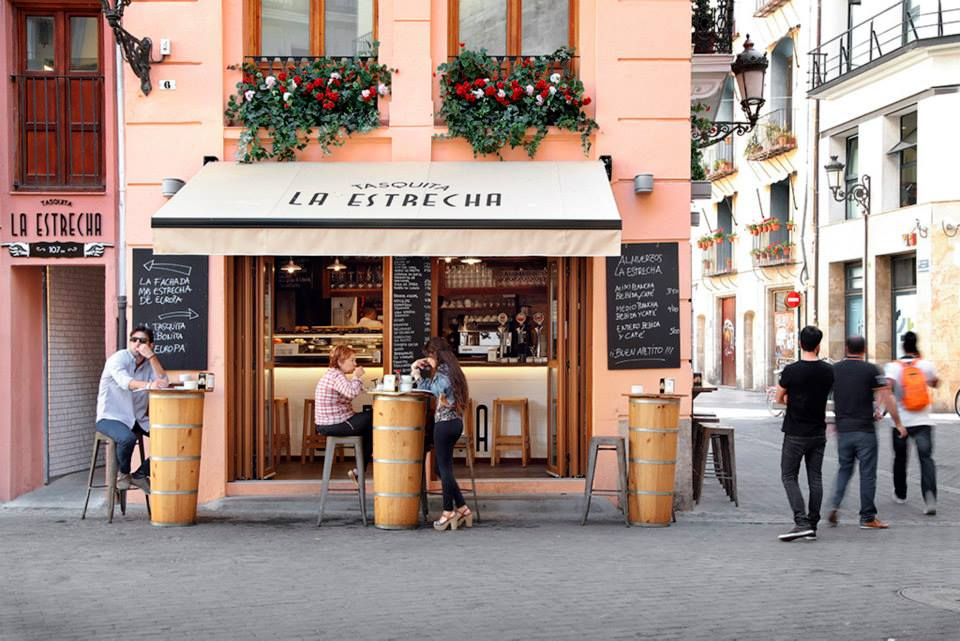La Estrecha, Valencia. Photo courtesy of La Estrecha.