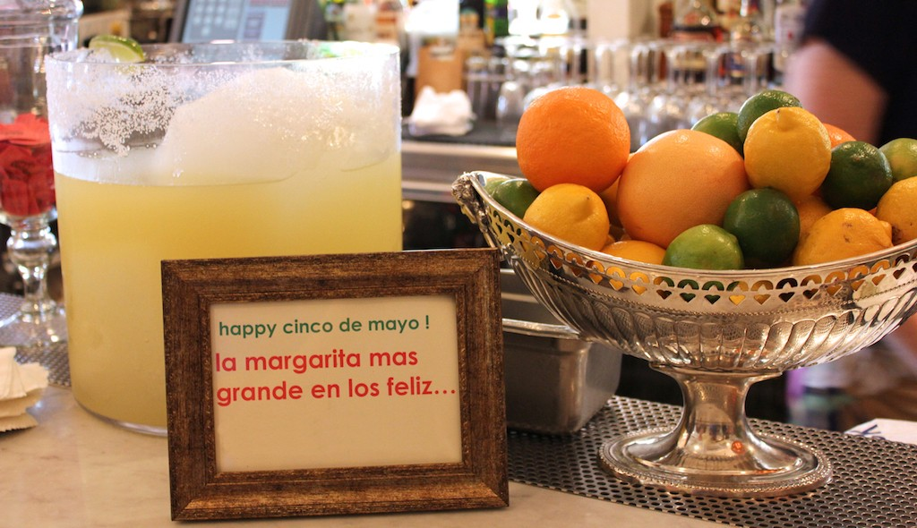 The Largest Margarita in Los Feliz|Courtesy of Big Bar