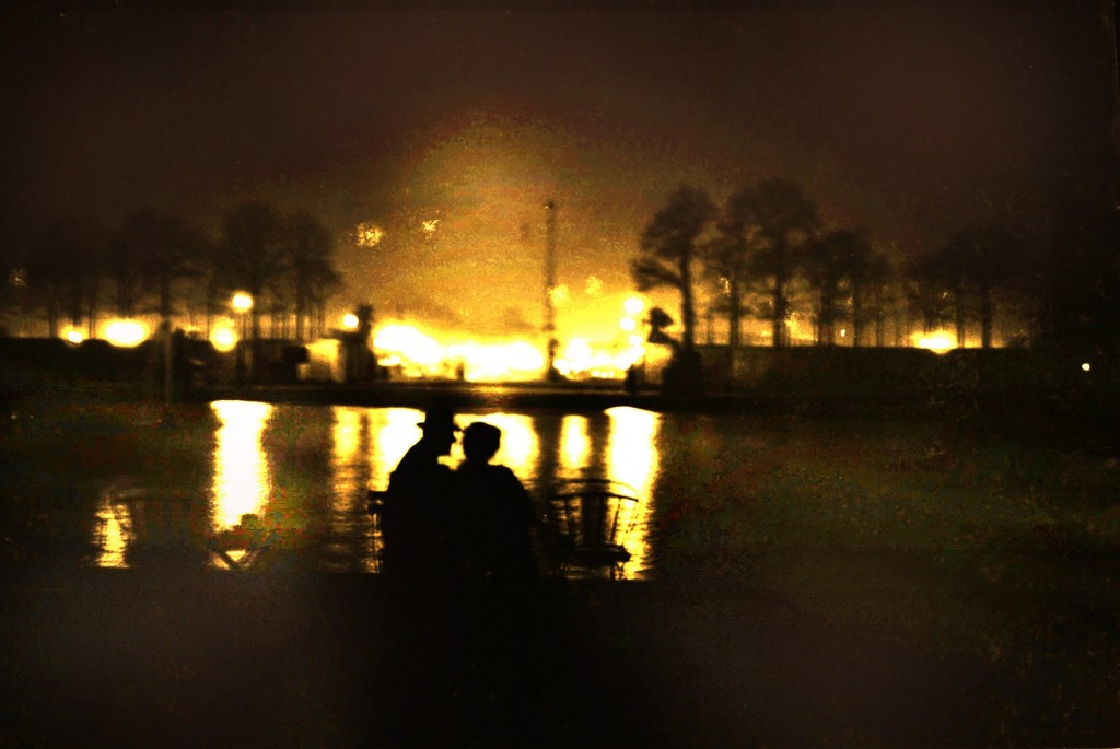 Last Light, The Tuileries │© Maurice Sapiro