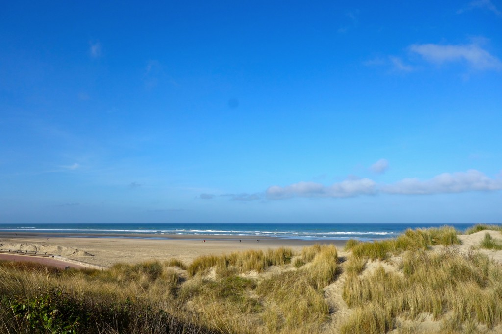 The sandy dunes and wide sands of Le Touquet ©Sylvia Edwards Davis