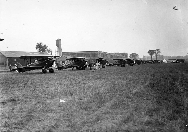 Leaside Airfield, 1930 | Public Domain/ WikiCommons
