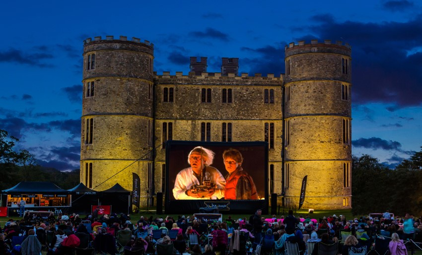 Lulworth Castle | © Riot Communications/Luna Cinema