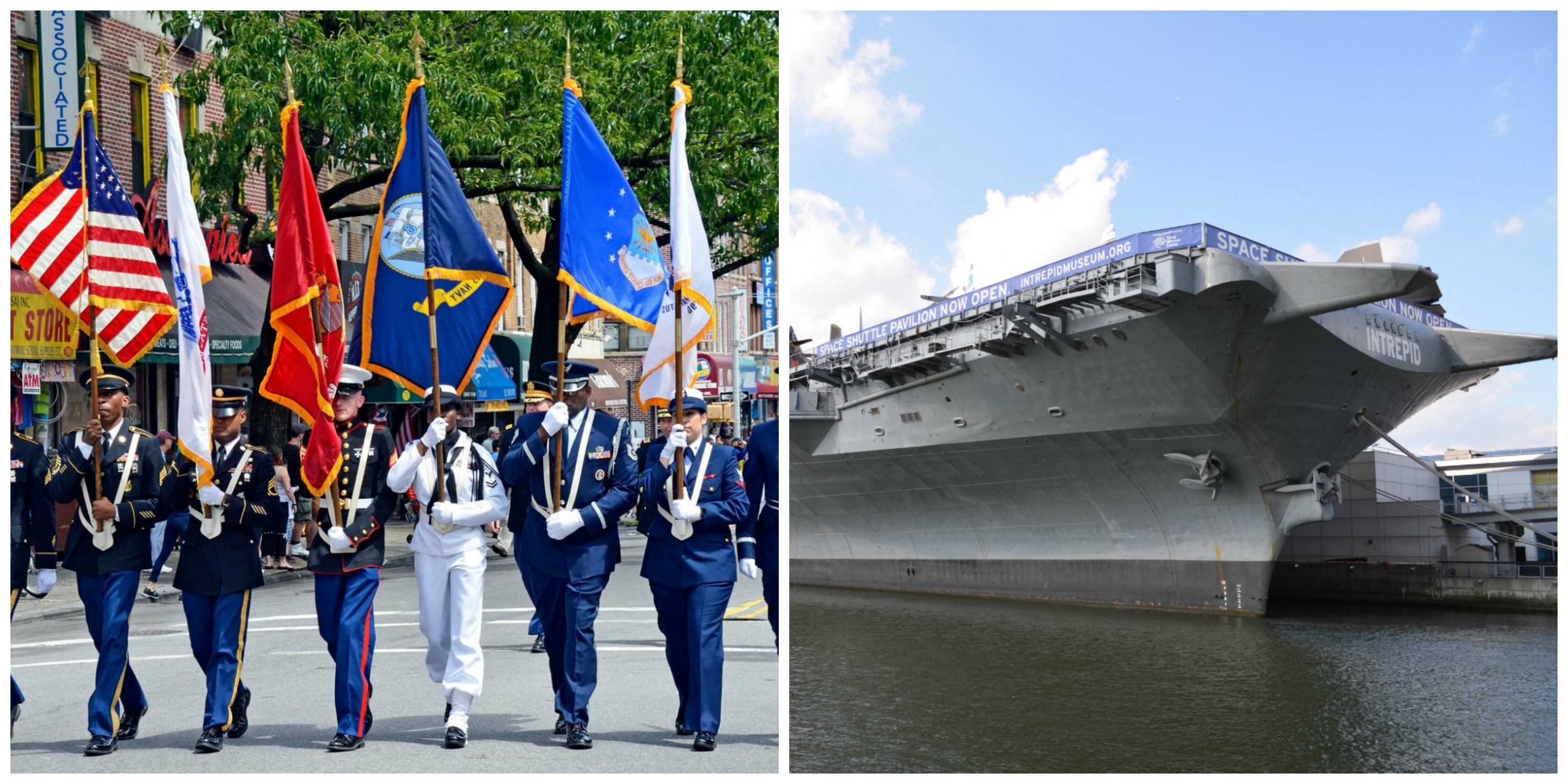 Brooklyn Memorial Day Parade | United Military Veterans of Kings County / Intrepid Air & Space Museum | Intrepid Museum/WikiCommons