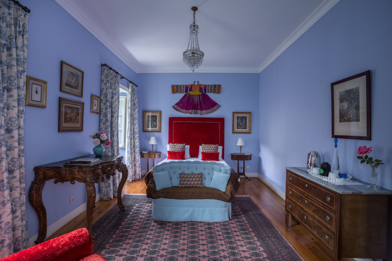One of the bedrooms at the São Miguel Guest House © Courtesy of the São Miguel Guest House