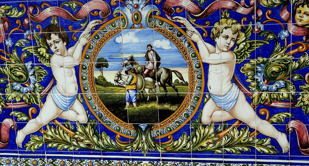 Exterior tiles at Columbia Restaurant in Ybor City © Make Ball, CC/Flickr