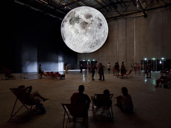 Museum of the Moon in Marseilles | © Luke Jerram