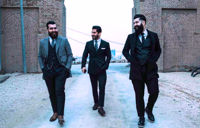 Mr.Erbil's founders: Omer Nihad (left), Goran Pshtiwan (centre) and Ahmed Nauzad (right)| © @nzcam