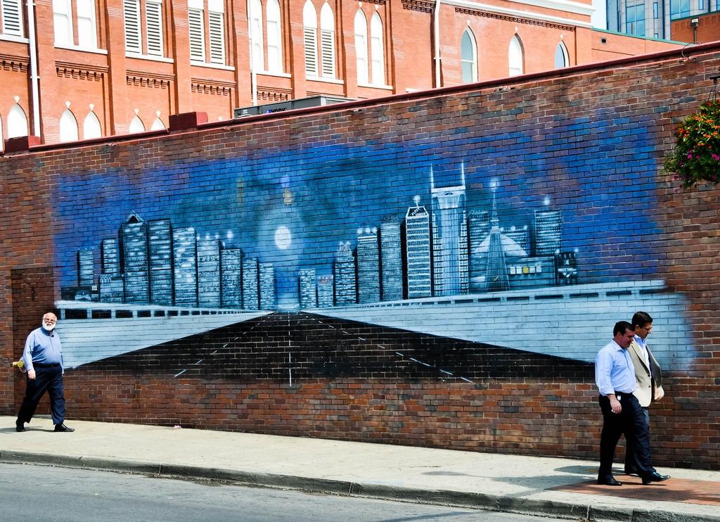wall mural at Legends Corner / (c) Ole Bendik Kvisberg / Flickr