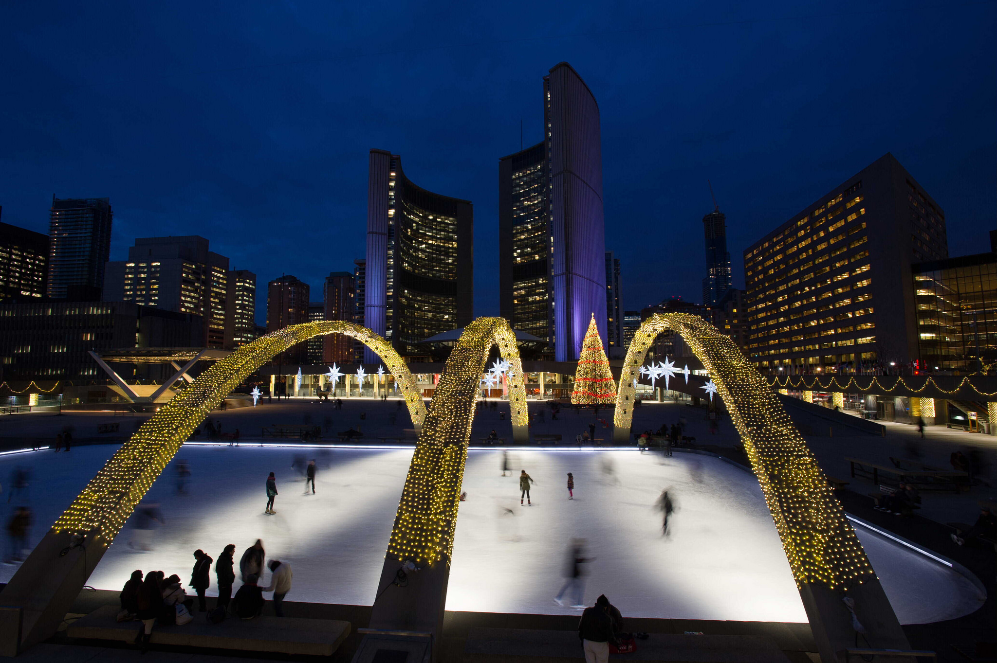 Nathan Phillips Square | © The City of Toronto/ Flickr