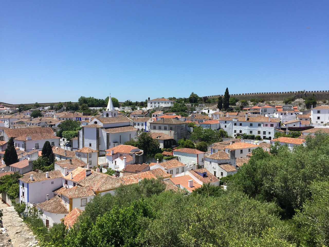 Óbidos, a city within castle walls © Pixabay