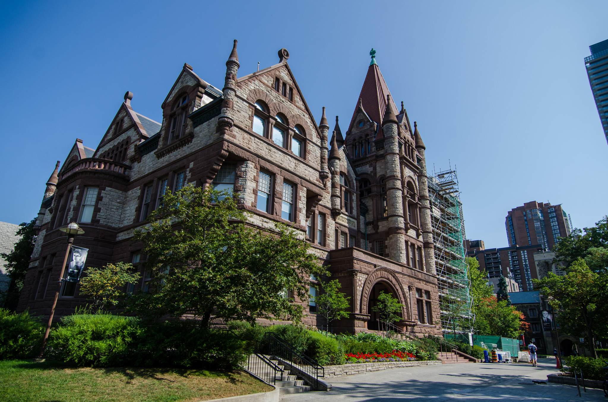 The Old Vic building at the University of Toronto's Victoria College is one of the featured buildings in Doors Open Toronto   © Jeff Hitchcock/ Flickr