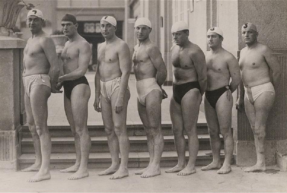 Hungarian water polo team 1932