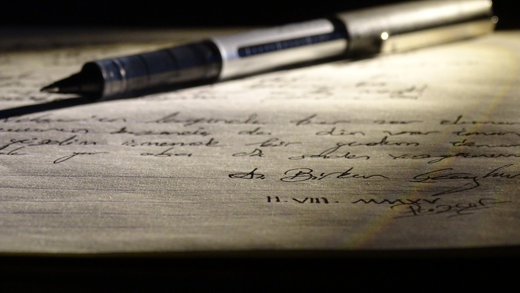 Pen and written paper   © A. Birkan CAGHAN/ Flickr